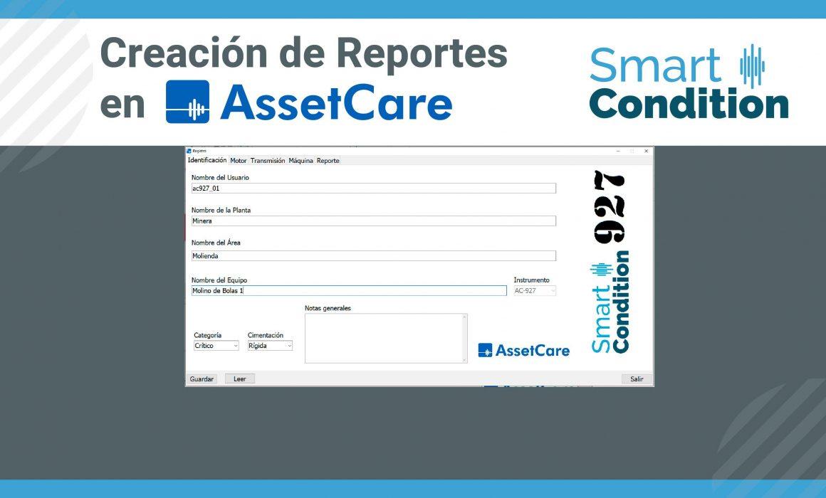 Creación de Reportes en AssetCare